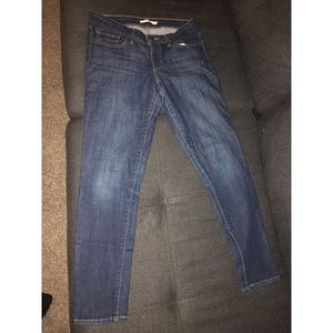 Levi's Blue Denim Jeans for Women